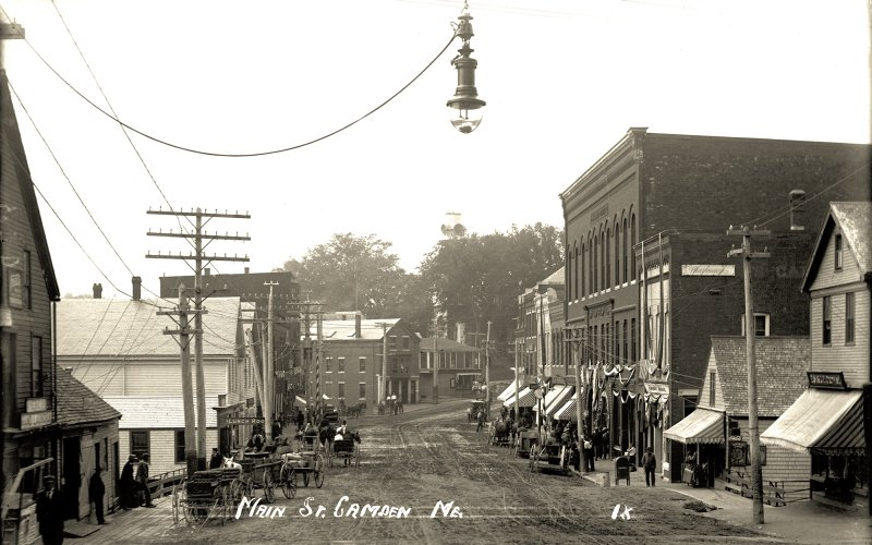 Main St., Camden, Me