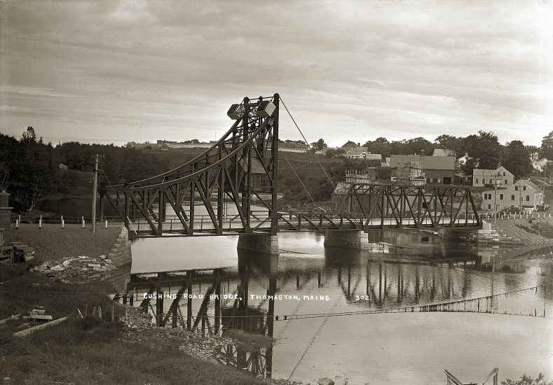 Cushing Road Bridge, Thomaston, Maine