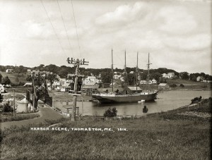 Harbor Scene, Thomaston, Me