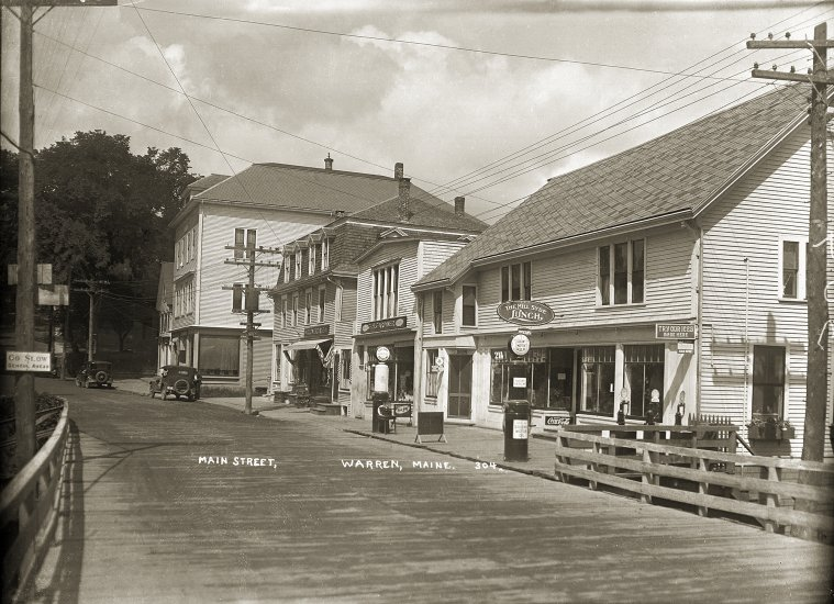 Main Street, Warren, Me