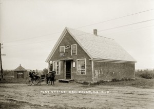 Post Office, Ash Point, Me