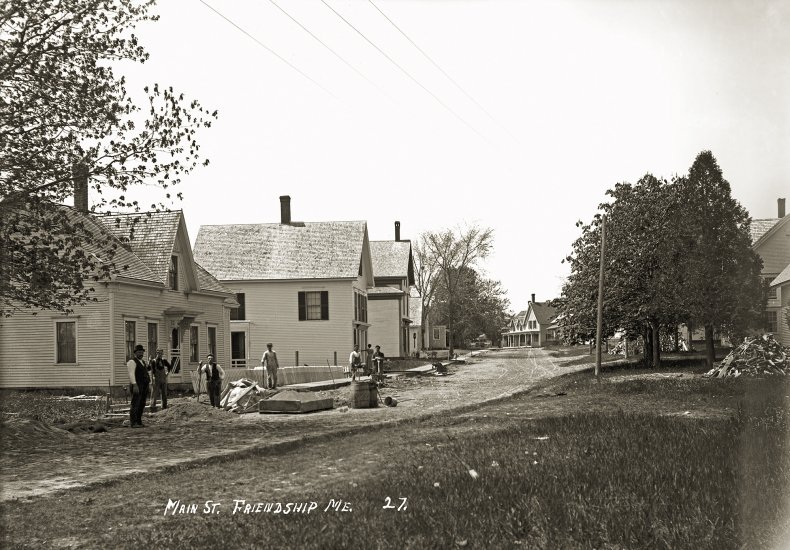 Main St.,   Friendship, Me