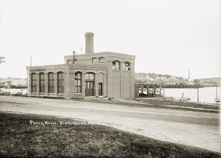 Power House, Vinalhaven, Me