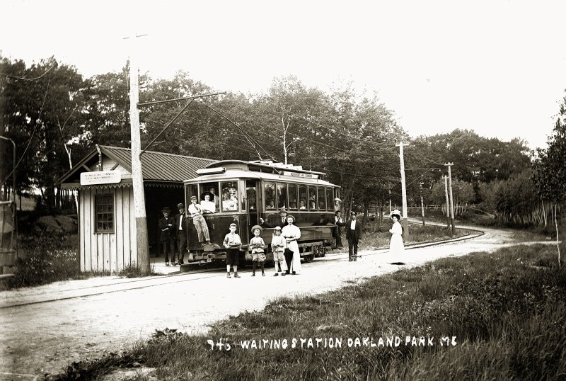 Waiting Station, Oakland Park, Me