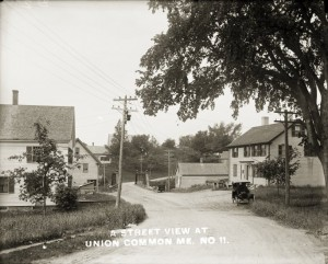 A Street View at Union Common, Me