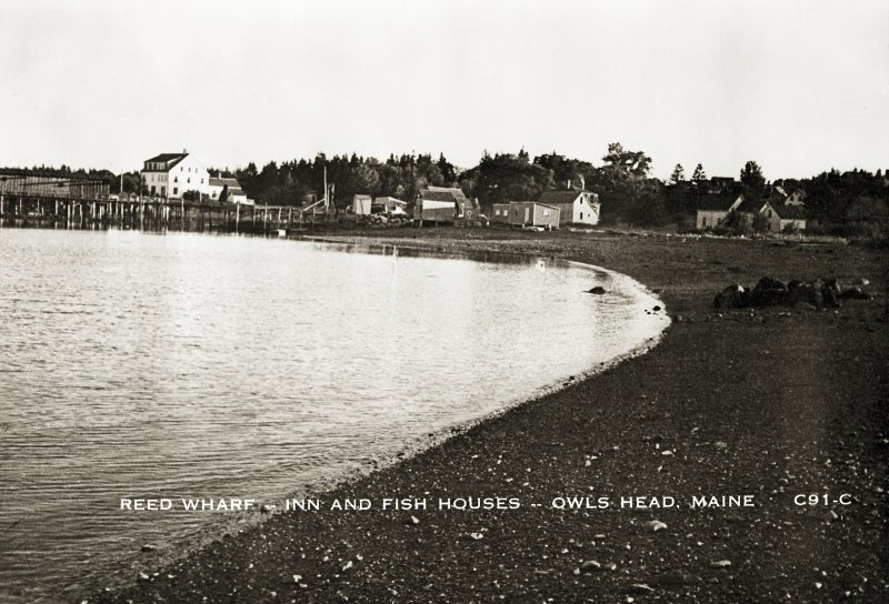Reed Wharf – Inn and Fish Houses – Owls Head, Maine