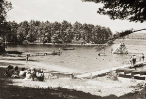 Alford Lake Camp, Union, Me