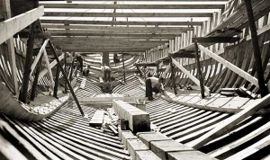 Building the ST. GEORGE, 1939