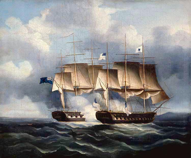 USS PRESIDENT and HMS ENDYMION