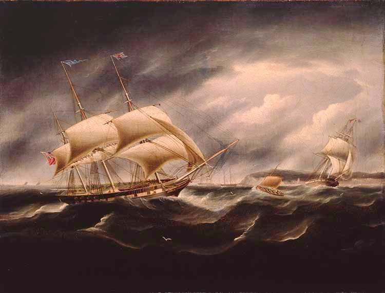 Shipping in Rough Seas