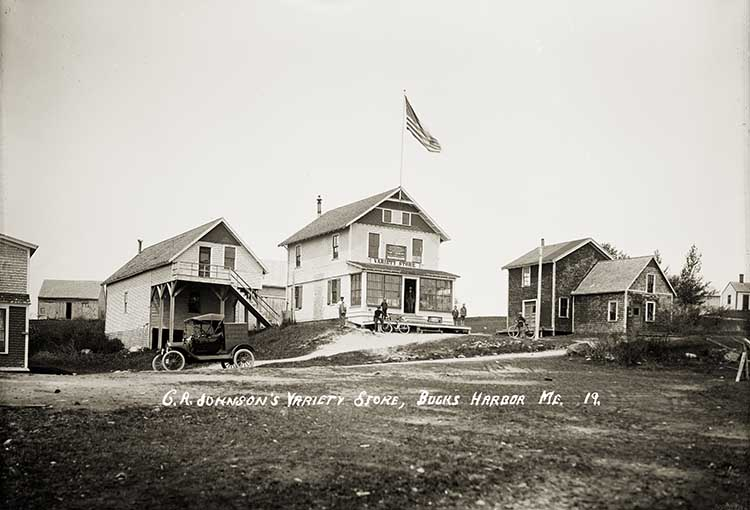 C. R. Johnson's Variety Store, Bucks Harbor, Me.  19.