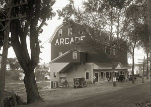 The Arcade, R. K. Dennison, Prop., East Machias, Me.  8K.