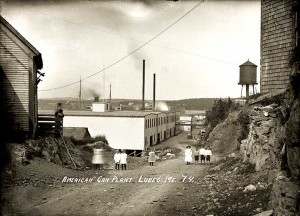 American Can Plant, Lubec, Me.  74.