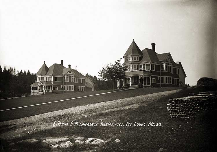 E. P. and E. M. Lawrence Residences, No. Lubec, Me. 60.