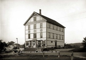V.A. Simmons & Co. Store, Searsmont, Maine