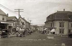 Main St., Machias, Me.  16K.