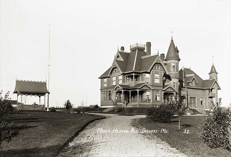 Mayor Hanson Res, Belfast, Maine   ca. 1910
