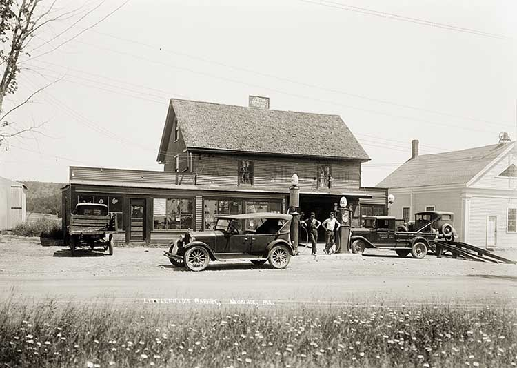Littlefield's Garage, Monroe, Maine