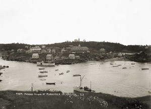From Manana Island of Monhegan Island, Me  23