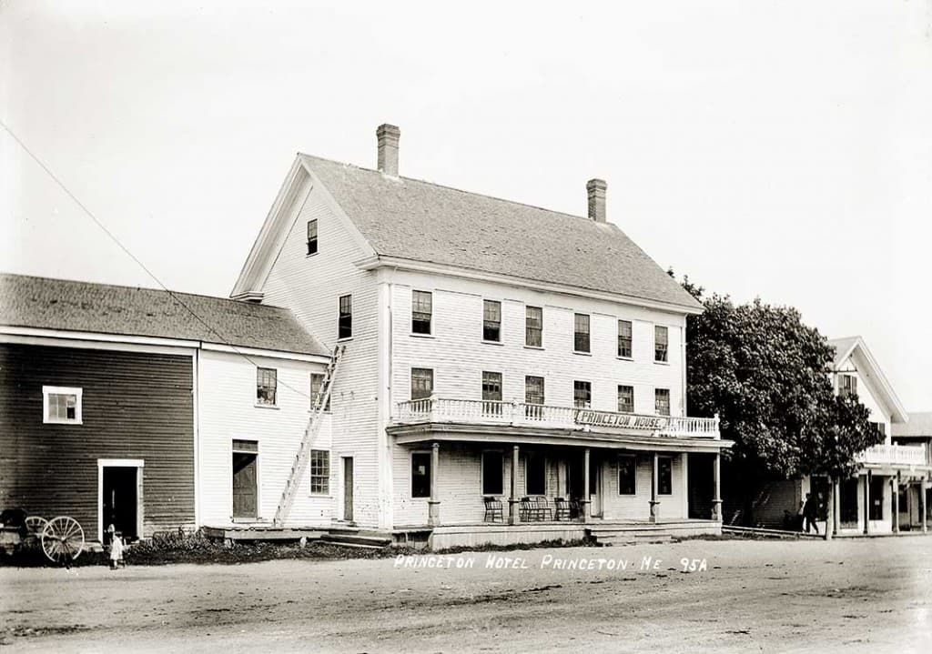 Princeton Hotel, Princeton, Me.  95A.
