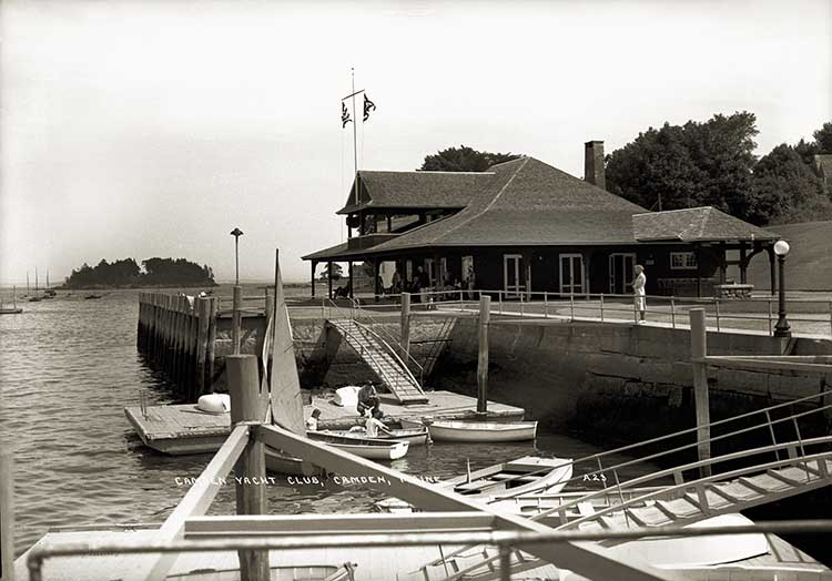 Camden Yacht Club, Camden, Maine  A23