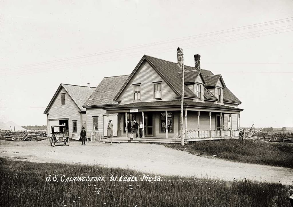 J. S. Calkins Store, W. Lubec, Me.  54.