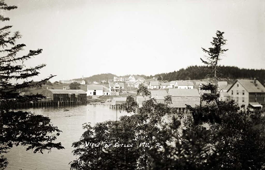 View of Cutler, Me.  2.