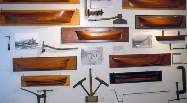 Shipbuilding Tools and Half Models