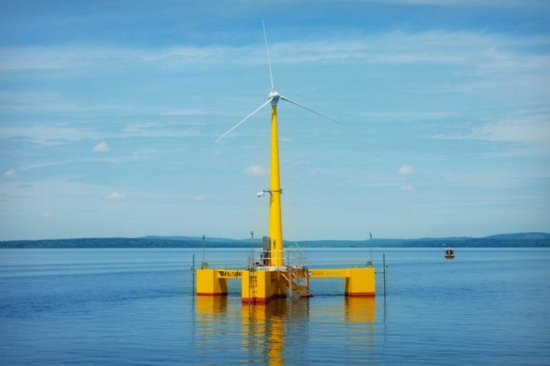 VolturnUS, the first grid-connected offshore wind turbine