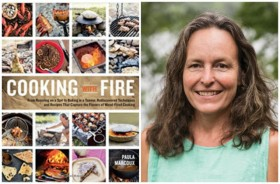 Cooking with Fire, Author Paula Marcoux