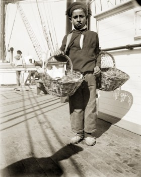 Anonymous; Boy with Oranges, Buenos Aires, c. 1895-1916