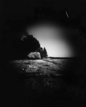 Anne-Claude Cotty, Islands by Kayak, pinhole photograph