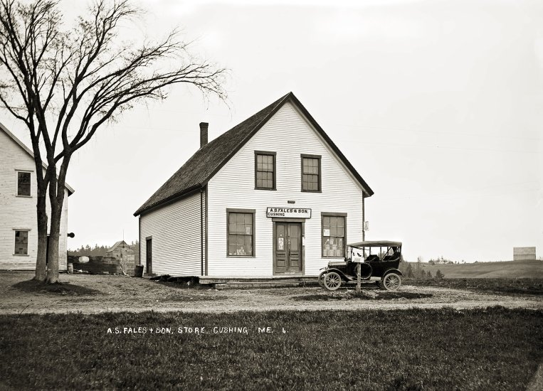 A.S. Fales & Son Store, Cushing, Me