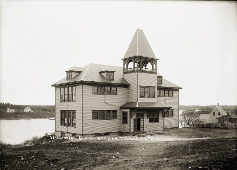 Washington School Building, Vinalhaven, Me