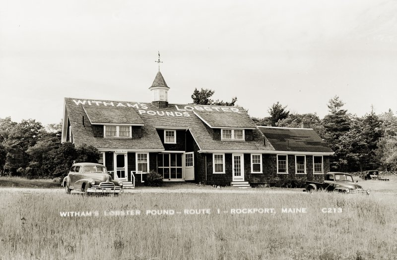 Witham's Lobster Pound – Route 1 – Rockport, Maine