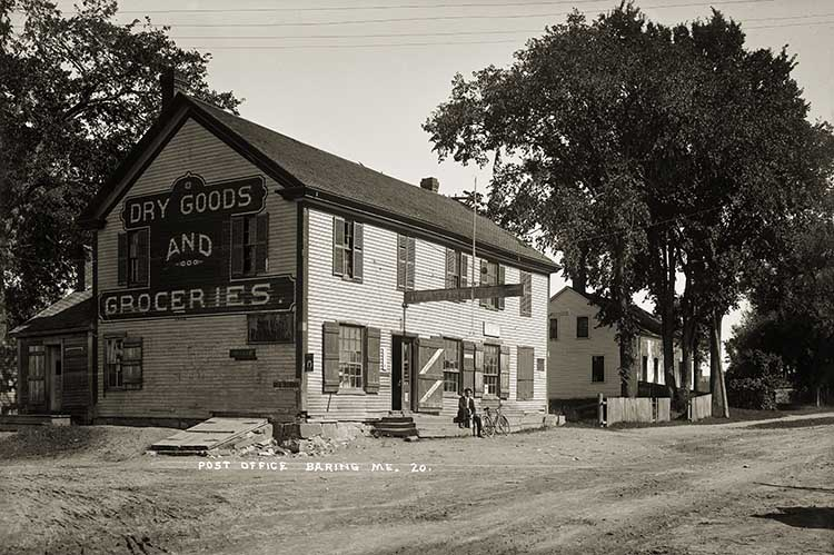Post Office, Baring, Me.  20.