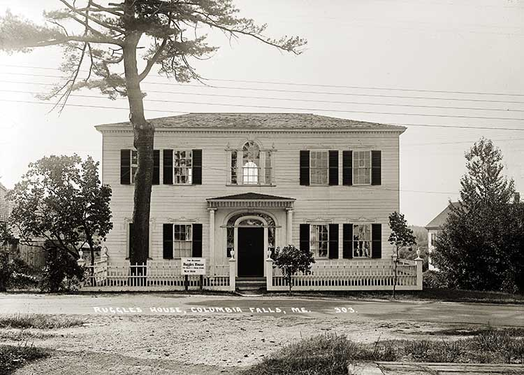 Ruggles House, Columbia Falls, Me.  303.