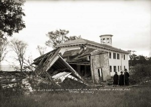 S.M. Webber House, Searsport, Maine After Cyclone May 22, 1921