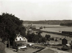 Untitled, The Puddle Dock, Belfast, ME    Ca. 1915
