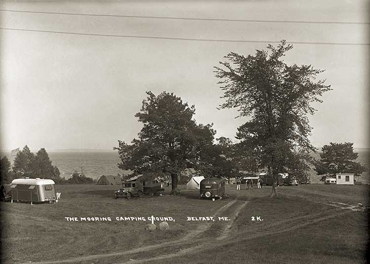 The Mooring Camping Ground, Belfast, Me 2K