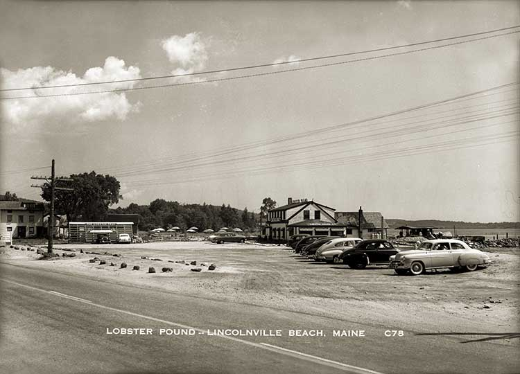 Lobster Pound, Lincolnville Beach  40.