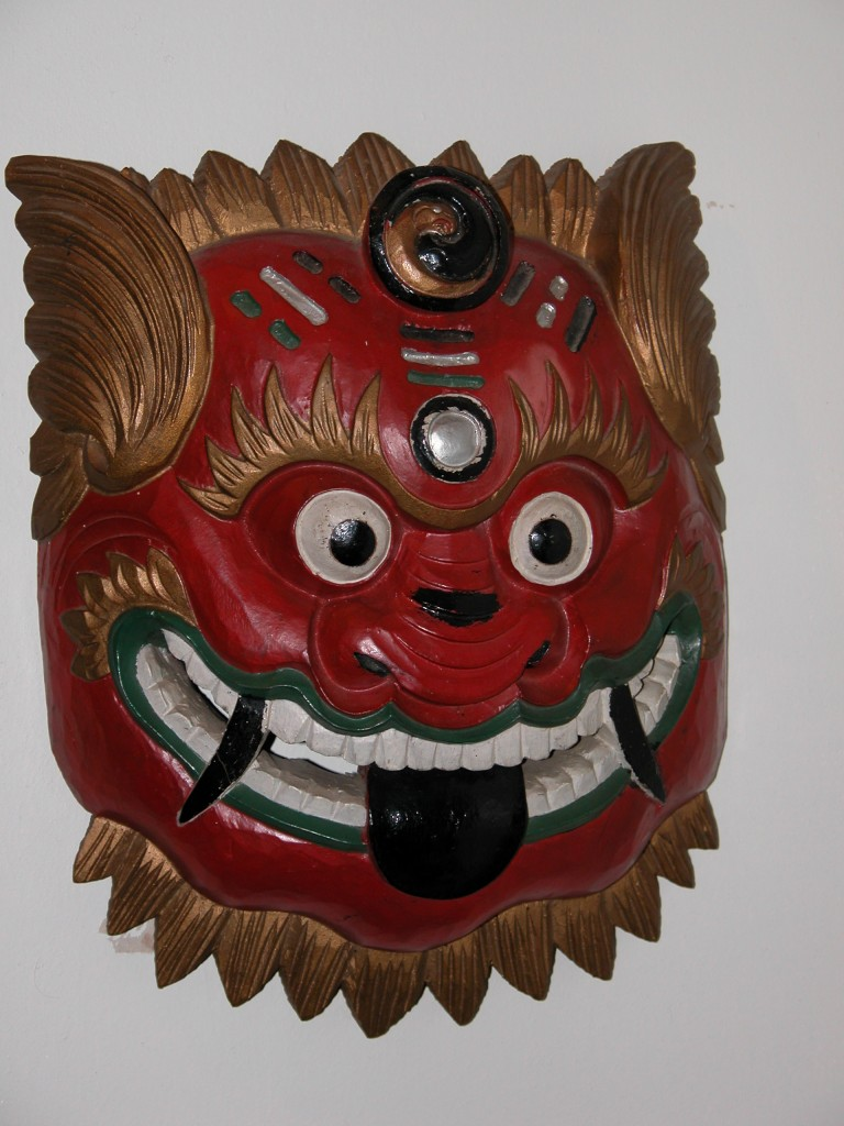 Chinese Devil Chaser Mask