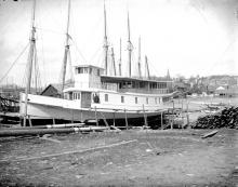 Steamer Sedgwick Under Construction