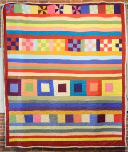 Crazy Quilt by Lucy Mongo