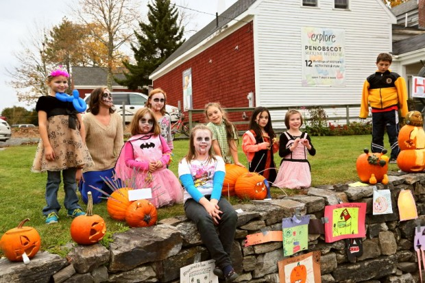 Kids in Costume at Fling Into Fall