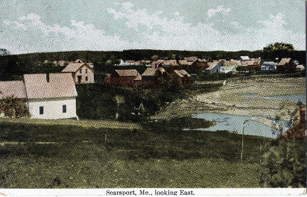 Postcard of Searsport, collection of Penobscot Marine Museum
