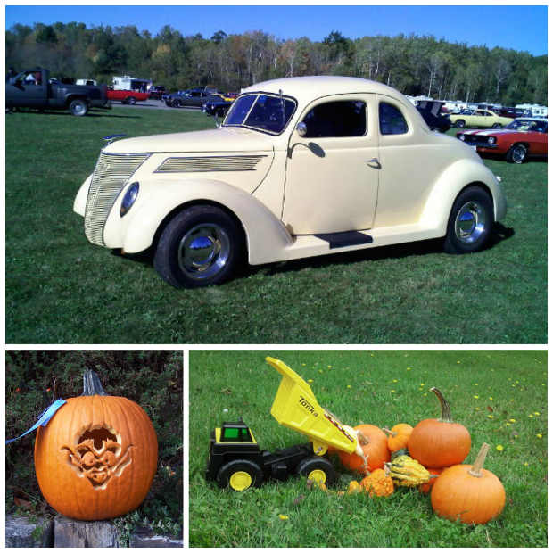 Antique Auto, Fling Into Fall 2014 First Place Jack O' Lantern, Fling Into Fall 2014 Restored Tonka Truck, Fling Into Fall 2014