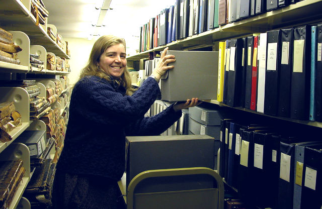 Cipperly Good dives into the local community records and bound Republican Journals.